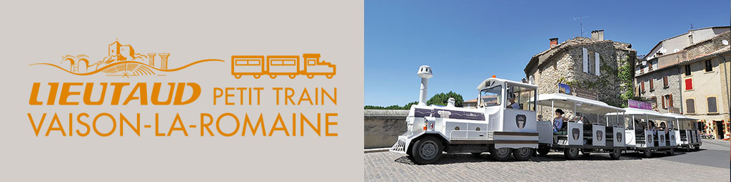 New website for the Vaison-la-Romaine Tourist Train