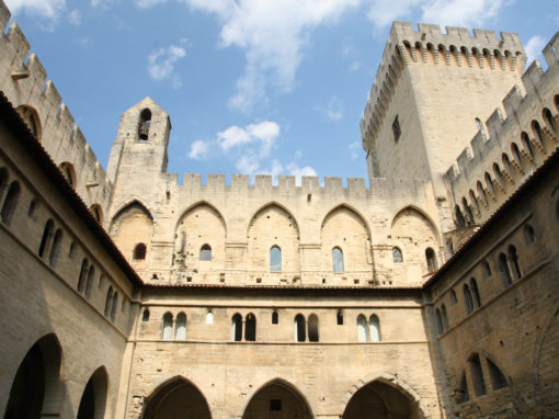 The Palais des Papes in Avignon - Le Palais des Papes à Avignon