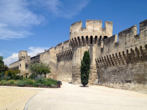 City Wall in Avignon - Les remparts d'Avignon
